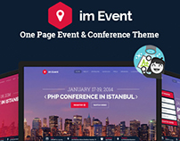 Im Event - Event Landing Page *Themeforest Featured*