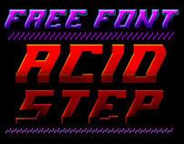 Free font - Acid Step