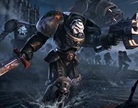 Warhammer 40k Black templars tribute