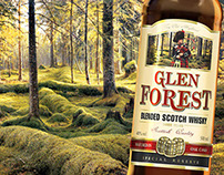 Glen Forest whisky and whisky&cola