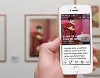 iOS WindowsPhone - Concept App Museum Georges Pompidou