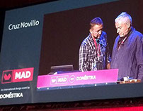 Cruz Novillo conference at Mad in Spain 2014