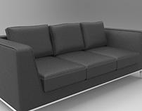 Sofa rendering