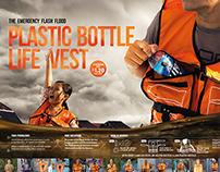 Plastic Bottle Life Vest