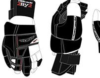 Cascade Lacrose glove concept. 2002