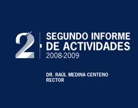 2do Informe de Actividades 2008-2009 - CUCIENEGA -