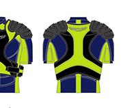 Cascade Lacrosse Shoulder pads