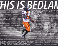 """This is Bedlam"" Design"