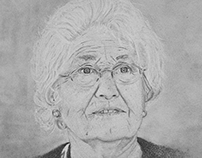 Pencil portrait