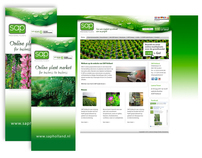 SAP Holland Website, Magneetwand en Banners