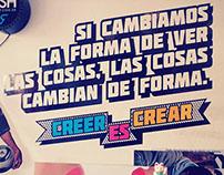 CREER ES CREAR _ABASTOGRAPHICS