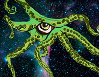 Tentacle Space Monster