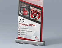 Rollup Stand Design