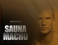 SPA UI DESIGN & FLASH ANIMATION (SAUNA MACHO)