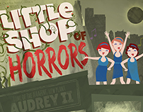 Little Shop of Horrors promo poster