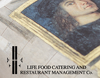 LIFE FOOD CATERING & RESTAURANT MANAGEMENT Co. Logo