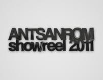 ANTSANROM Showreel 2011