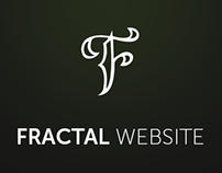 Fractal Arts Website Design