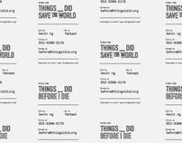 Thingsidid Name Card