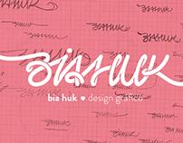 Sistema de ID Visual | Bia Huk