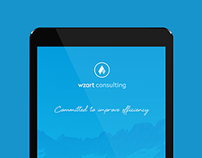 Website Design & Identity / Wzart Consulting