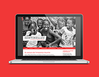 Website Design & Video / Sentinelles