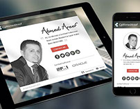 Ahmed Areef Website