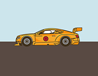 Life In the Fast Lane (Car Illustration)
