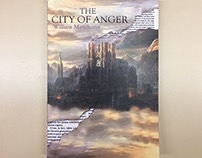 """""""The City of Anger"""" Book Cover Design"""