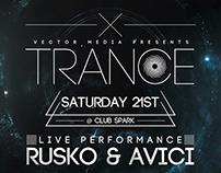 Trance - Flyer