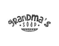 Font Study for soap label