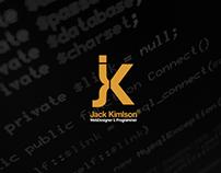 Jack Kimlson - Visuel Identity