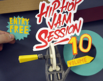LIVE HIP HOP JAM SESSION volume 10