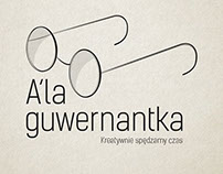 "Branding for childcare agency ""Ala guwernantka"""