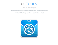 GP TOOLS app icon design