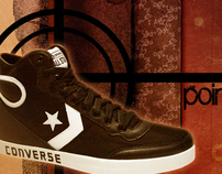 Point. Aim. Style. Art Nouveau/Constructivism Converse