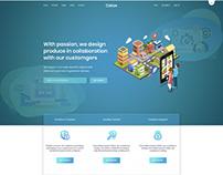 One-page Parallax Portfolio Design