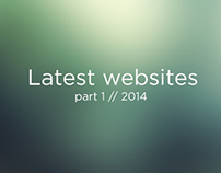 Latest Websites part 1