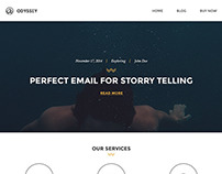 Odyssey - Hypster Responsive Email Template