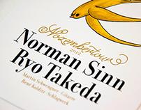 Nozembertour Norman Sinn & Ryo Takeda
