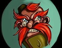 Red mustache strategist