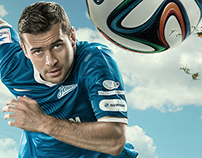 FC Zenit promo posters