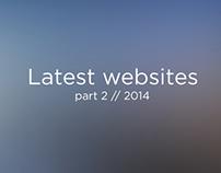 Latest websites part 2