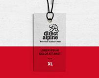 Direct Alpine - logo redesign