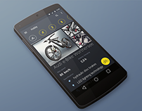 Material Design - Audi eBike