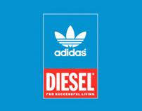 adidas original x diesel Campaign