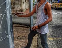 Proyecto artístico transitando.dando vida a los postes