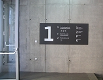 FRI & FKKT signage and way-finding system