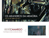 Ibere Camargo Foundation Website