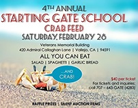 School Fundraiser Flyer Design